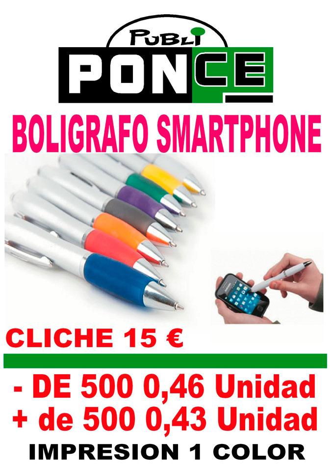 Impresión en Bolígrafos Smartphone